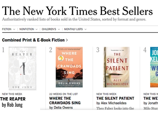 The Reaper No 1 on NYT